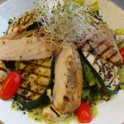 salatka ogrodowa